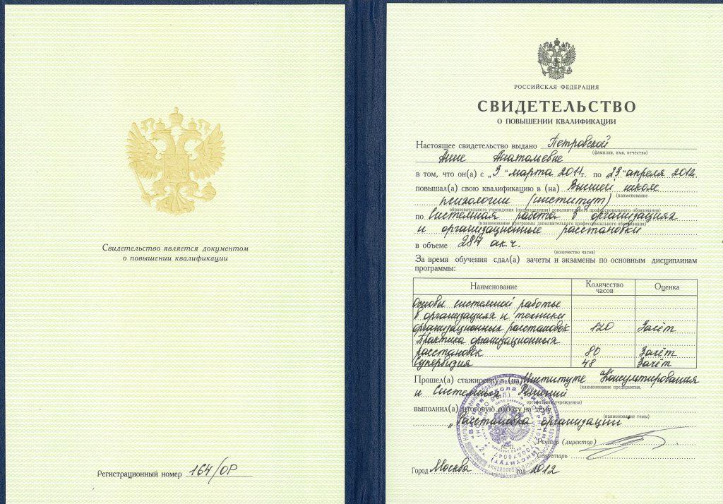 Организационные расстановки (Москва)